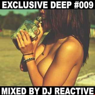 Dj Reactive Exclusive Deep 009 (Mixed by Dj Reactive)