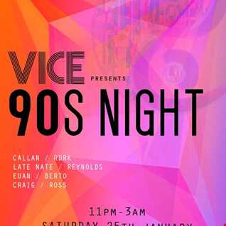 Vice 90s Night
