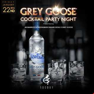 Grey Goose Cocktail Party Night, JW Marriott Hotel - 01/22/2016 (Deep House)