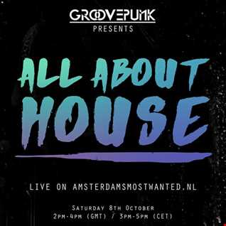 ALL ABOUT HOUSE - Live on AMW.FM - 08/10/2016