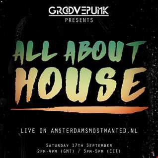 ALL ABOUT HOUSE - Live on AMW FM - 17/09/2016