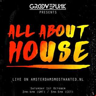 ALL ABOUT HOUSE - Live on AMW.FM - 01/10/2016