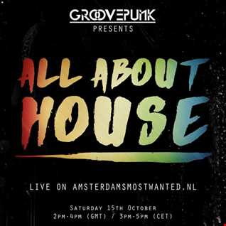 ALL ABOUT HOUSE - Live on AMW.FM - 15/10/2016
