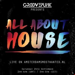 ALL ABOUT HOUSE - Live on AMW.FM - 24/09/2016