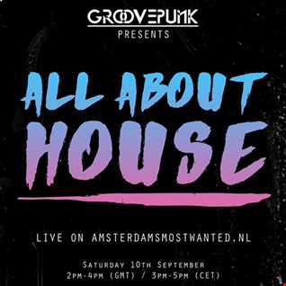 ALL ABOUT HOUSE - Live on AMW.FM - 10/09/2016