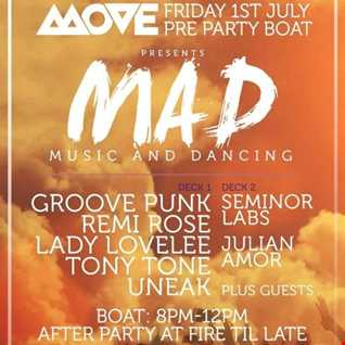 Sundown On The Thames - MAD Boat Party Promo Mix