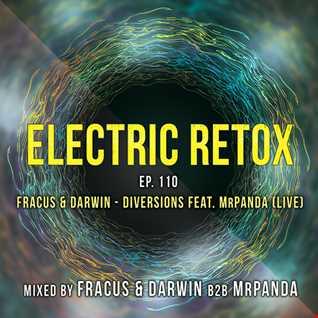 Ep. 110: Fracus & Darwin - Diversions feat. MrPanda (Live)