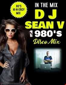 HIGH ENERGY DISCO 80'S MIX DJ SEAN V