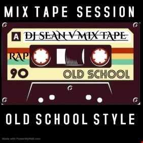 "RAP MIX TAPES DJ SEAN V ""THE OLD SCHOOL WAY"""