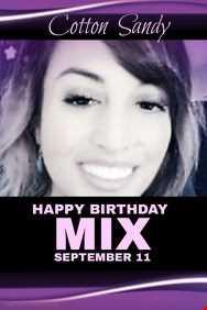 SANDY BIRTHDAY MIX BY DJ SEAN V