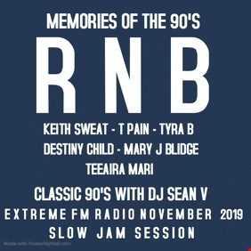 RNB 90'S MIX DJ SEAN V