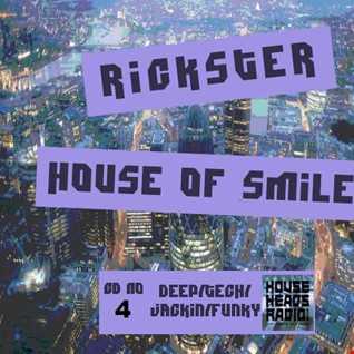 Rickster's  House of Smiles CD.4  (VINYL)  DEEP House - HHR - 29-1-15