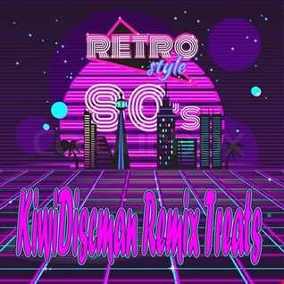 Retro Style 80s Remix Hits