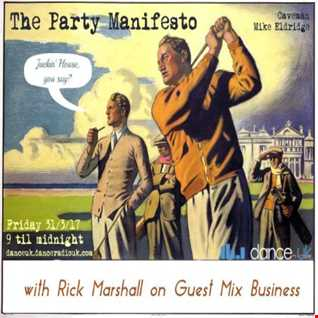 The Party Manifesto Caveman & Rick Marshall 31/03/17