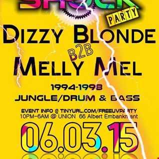Dizzy Blonde B2B Melly Mel @ Free UV Shock Party