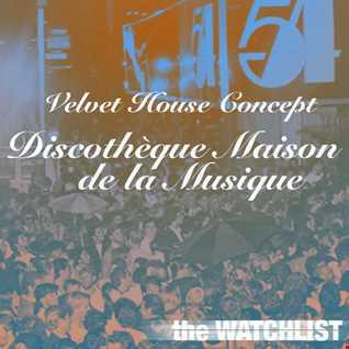 Velvet House Concept v.6 - Discothèque Maison de la Musique