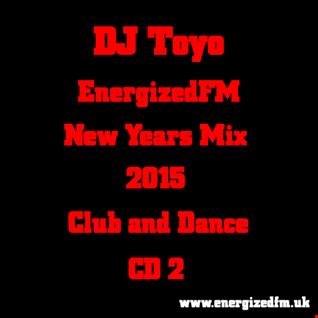 DJ Toyo   EnergizedFM New Years Mix 2015 (Club, Dance) (CD2)