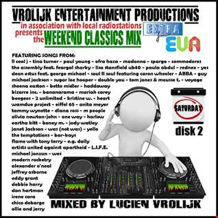 Weekend Classics Mix No. 08 (Totally 90's !) (mixed by Luciën Vrolijk)