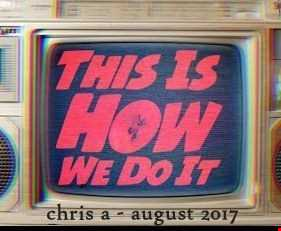 this is how we do it vol 1 chris a