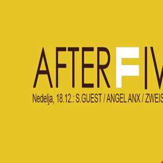 DJ Zweis@AFTERFIVE Party@LIVE mix from F CLUB, Ljubljana(18.12.2016) PART 2 of 4