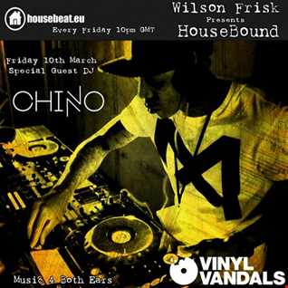 HouseBound March 10th with special guest DJ Chino aka Vinyl Vandals