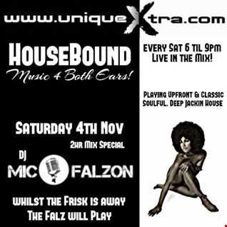 HouseBound on Uniquextra.com Sat 4th Nov 2017