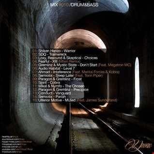 Droax Mix #010/ Deep, Dark Drum&Bass