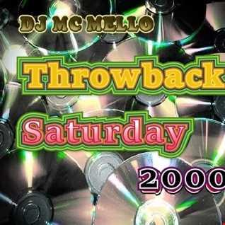 2000 Throwback Saturday