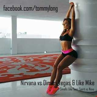 Nirvana vs Dimitri Vegas & Like Mike - Smells Like Teen Spirit vs Nova (Tommy Long Mashup)