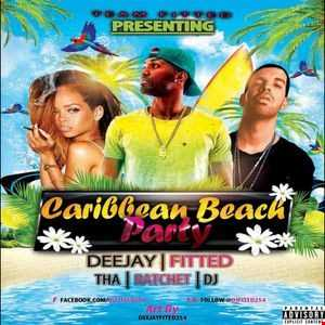 DJFITTED254 CARIBBEAN BEACH PARTY