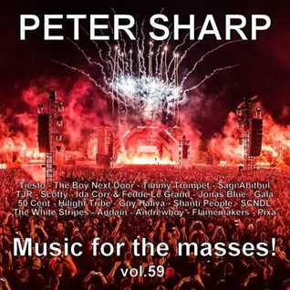 Dj Splash (Peter Sharp)   Music for the masses 59 2018 www.djsplash.hu