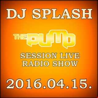 Dj Splash (Lynx Sharp) - Pump Session Live Radio Show - 2016.04.15.
