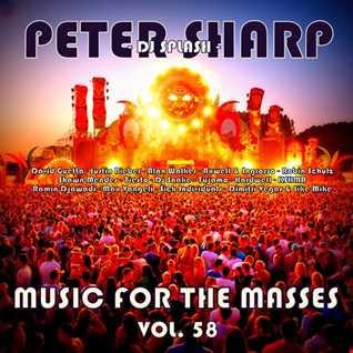 Dj Splash (Peter Sharp)   Music for the masses 58 2018 www.djsplash.hu