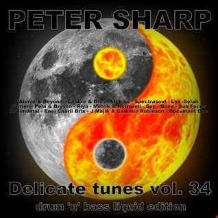 Dj Splash (Peter Sharp)   Delicate tunes vol.34 LIQUID DNB EDITION 2018 www.djsplash.hu