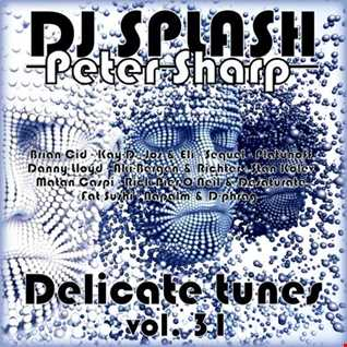 Dj Splash (Peter Sharp)   Delicate tunes vol.31 2017 www.djsplash.hu