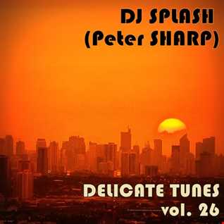 Dj Splash (Peter Sharp)   Delicate tunes vol.26 2017 www.djsplash.hu