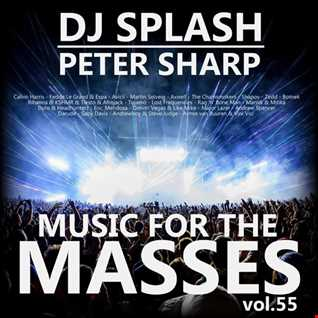 Dj Splash (Peter Sharp)   Music for the masses 55 2017 www.djsplash.hu