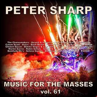 Dj Splash (Peter Sharp)   Music for the masses 61 2018 www.djsplash.hu