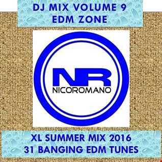 Nico Romano Dj Mix Vol. 9 EDM Zone