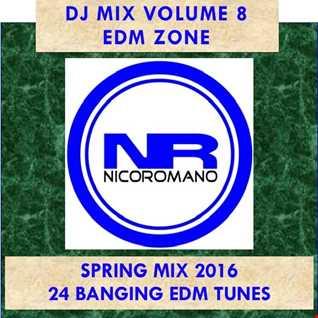 Nico Romano Dj Mix Vol. 8 EDM Zone