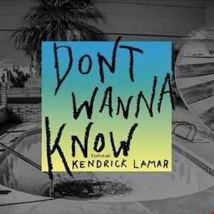 Maroon 5 ft Kendrick Lamar - Don't Wanna Know remix