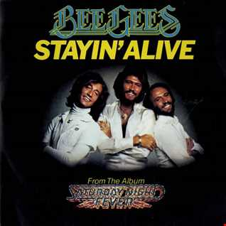 Bee Gees - Stayin Alive remix