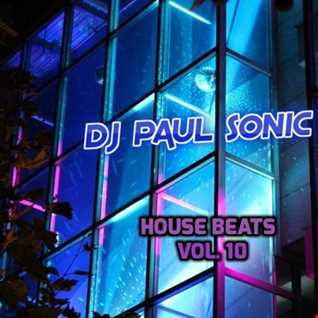 DJ PAUL SONIC G HOUSE BEATS VOL 10