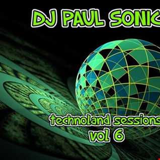 DJ PAUL SONIC G TECHNOLAND SESSIONS VOL 6