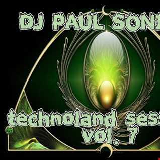 DJ PAUL SONIC G TECHNOLAND SESSIONS VOL7