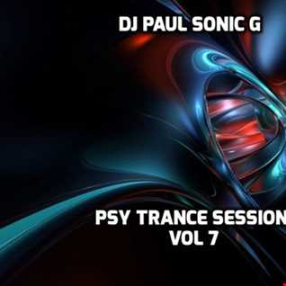 DJ PAUL SONIC G PSY TRANCE SESSIONS vol 7