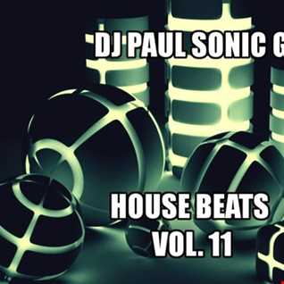 DJ PAUL SONIC G HOUSE BEATS VOL 11