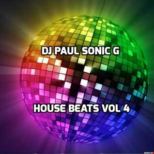 DJ PAUL SONIC G HOUSE BEATS VOL 4