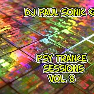 DJ PAUL SONIC G PSY TRANCE SESSIONS VOL.8