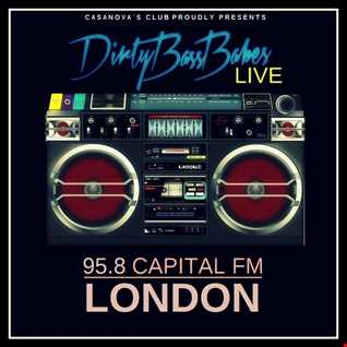 DJANE PUSSY POWER ' ROCKIN LONDON '  ON CAPITAL FM 95,8